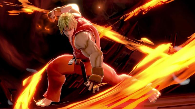 Ken Super Smash Bros