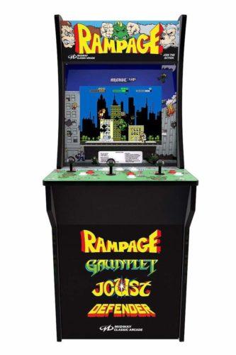Rampage arcade cabinet