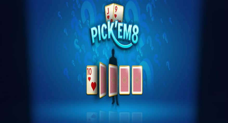 888poker's Pick 'em 8 – a fast and fun new twist on poker