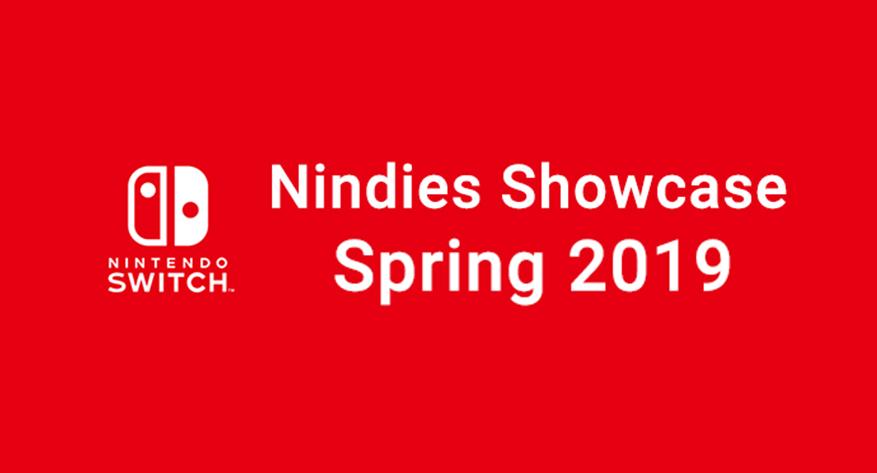 Spring 2019 Nindies Showcase Incoming