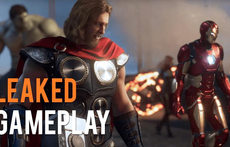 Avengers Gameplay Leaked