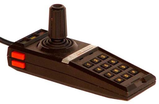 Atari 5200 game controller