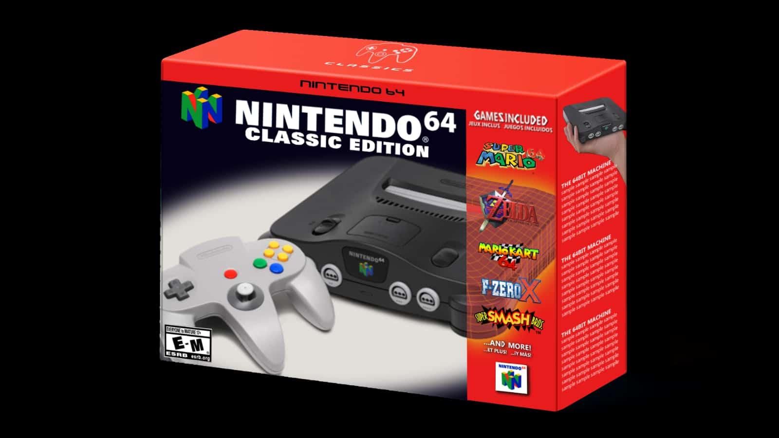 Nintendo 64 Classic Edition Mock Up