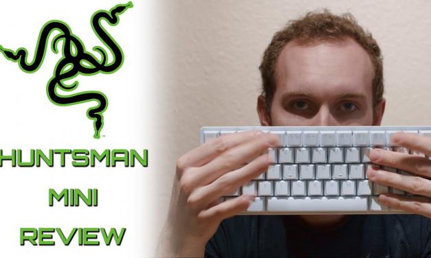The Best 60% MKB for Beginners – Razer Huntsman Mini Review